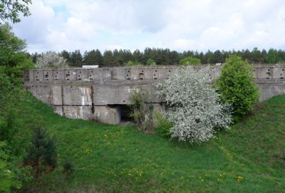 Fortified constructions of Grodno citadel