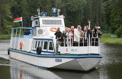 """Awgustow Canal"" park was visited by the record number of guests last weekend – 800 tourists"