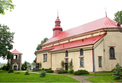 Church of the Assumption of the Blessed Virgin Mary in Odelsk