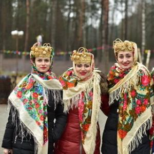 «Maslenitsa» on the basis of the recreation center «Prival»