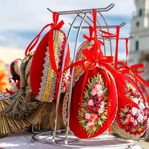 "Regional holiday-fair of craftsmen's products  ""Grodno Easter traditions"""