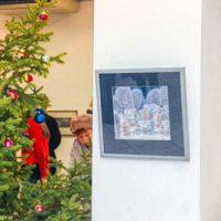 "Christmas and New Year exhibitions in the ""Exhibition Hall"""