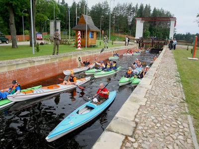 Cafes, yachts, rental, agro-life. What will appear in this season on the Awgustow Canal