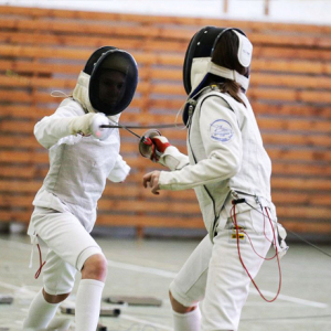 Open training in fencing from the freak-theater «Hexo-gen»