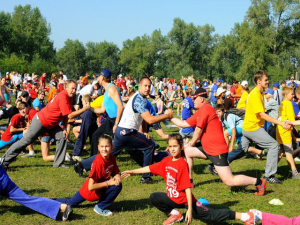 "Sport Festival ""Awgustow Canal in the culture of three nations"""