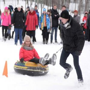 Snow Fest held within International Sports Day Celebration
