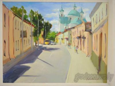 Four states of the Kalozha church, fabulous Grodno and a great deal of strawberry.  We are going to a new exhibition