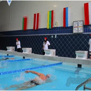 "IX Open swimming championship of Grodno in ""Masters"" category"