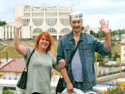 Without visa and by motor home. Thirty-thousandth visa-free tourist was met in Grodno